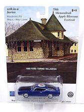 79th Shenandoah Apple Blossom Festival 1969 Ford Torino Talladega blue color