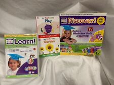 Your Child can Discover, Your Baby Can Learn Dvd set, My First Words Book, New