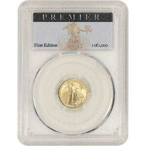 2018 American Gold Eagle 1/10 oz $5 - PCGS MS70 Premier Label First Edition