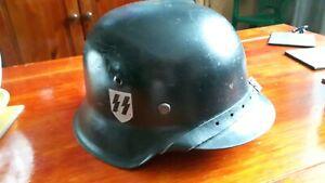 WW2 GERMAN HELMET M42 ET66 SHELL