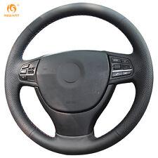 DIY Leather Steering wheel Cover for BMW F10 523Li 525Li 730Li 740Li 750Li #0101