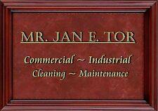 MAGNET Humor Fridge MR JAN E. TOR Commercial Industrial Cleaning Maintenance