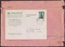 Austria - 1949 - 20 Groschen Green Peasant Girl Postal Stationery - Philatelist