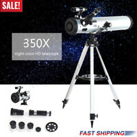 EASY ASSEMBLY ASTRONOMICAL TELESCOPE ENLARGE STAR SPACE OUTDOOR TRAVEL GIFT !