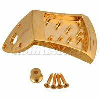 Golden 8 String Mandolin Tailpiece Rectangle Instrument Accessories Part