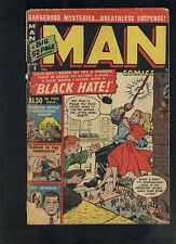 Man Comics # 6 Fair reader cover split 1951 crime Atlas Comics CBX27