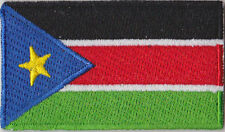South Sudan Flag Embroidered Patch T4