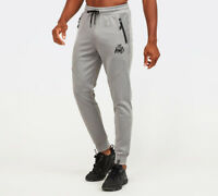 Kings Will Dream KWD Mens New Tracksuit Bottoms Poly Joggers Grey Reflective