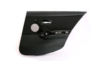 *BMW 3 Series E91 Touring Black Cloth Rear Right O/S Door Card Lining Trim Panel