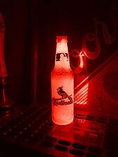 Mlb St. Louis Cardinals Baseball 12 oz Beer Bottle Light Led Neon Bar Pub Mens