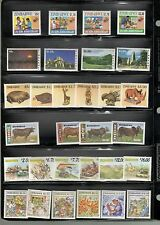 Zimbabwe SC #746//835 MNH stamps Cows Art Christmas Safari