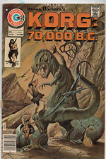 Korg: 70,000 B.C. #5 (Feb 1976, Charlton) VG/Fine