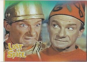THE COMPLETE LOST IN SPACE FACES OF DOCTOR SMITH INSERT SINGLE F4