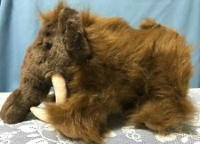 """Build A Bear Woolly Mammoth 15"""" Plush Prehistoric Animal With Sound """"I love you"""""""