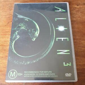 Alien 3 DVD R4 VERY GOOD - FREE POST
