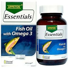 Appeton Essentials Fish Oil With Omega 3 60S