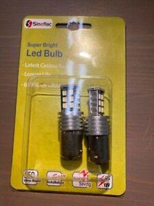 Sinoflac BA15S Led 380 Single filament brake light bulb