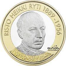 5 euros commémorative FINLANDE 2017  Président Risto Heikki Ryti 1889 - 1956