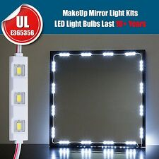 10ft 60LED white Dressing Mirror Lighted Cosmetic Makeup Vanity light remote set