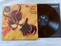 MERCYFUL FATE don't breack the oath ..VINYL CLEAR AMBER MARBLED-METAL BLADE