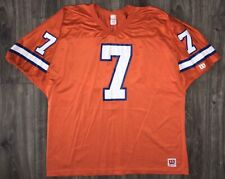 VINTAGE DENVER BRONCOS JOHN ELWAY #7 WILSON ORANGE CRUSH JERSEY XXL 2XL