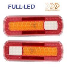 2x Fanali Posteriori Full-LED SX/DX con Freccia Dinamica 12V/24V Omologati