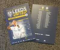 Leeds United v Chelsea PREMIER LEAGUE PROGRAMME 13/3/21 LAST FEW!!!