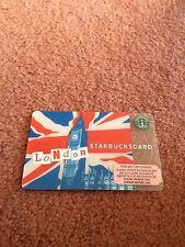 Starbucks Card London Big Ben British 2007 Unused Rare NO Credit included