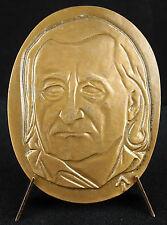 """Médaille au cubiste Jacques Lipchitz """"le chant des voyelles"""" Andras Beck medal"""