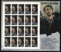 SCOTT 4197 2007 41 CENT JAMES STEWART ISSUE MINT SHEET NH VF CAT $20!