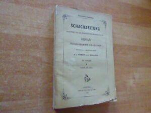 20. Jahrgang Deutsche Schachzeitung 1865 mit den Umschlägen