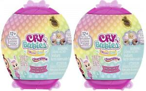 Cry Babies Magic Tears Dress Me Up Baby Dolls with Accessories Mystery 2 Pack