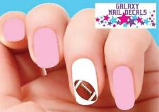 Waterslide Nail Decals - Set of 20 Football
