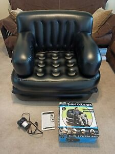 Pure comfort 5-in-1 INFLATABLE CHAIR BED.