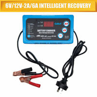 Car Battery Charger 120AH Automatic Intelligent Pulse Repair Type 220V 12V/6V