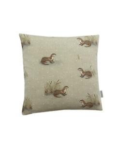 "16"" Stunning Fryetts Otter scatter cushion covers sham made in UK"
