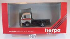 Herpa 1/87 Mercedes Benz 1635 Zugmaschine 2 Achsen ohne Beschriftung OVP #5197