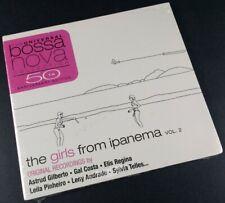 The Girls from Ipanema Vol. 2 - 50th Anniversary - 2008 - CD - Bossanova - NEW