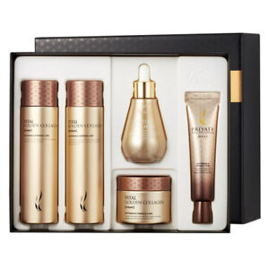 A.H.C Vital Golden Collagen Special KIT (Toner Lotion Cream Eye Cream Ampoule)