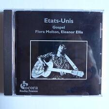 CD/ Flora Molton, Eleanor Ellis - Gospel Etats Unis / Ocora - Radio France