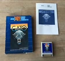 Atari XE - Gato - Boxed Game
