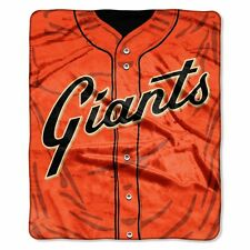 San Francisco Giants 50x60 Plush Raschel Throw Blanket - Jersey Design [NEW] MLB