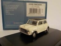 Mini Cooper S - White Black roof, Oxford Diecast 1/76 New Release