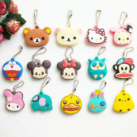 Key Caps Top Cover Animal Key Ring Head Chain Charm Chain Identifier Tag Uk