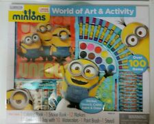 Minions Art and Activity- 100 pcs Fun Kid Craft- Limited Edition-Movie Exclusive