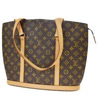 Authentic LOUIS VUITTON BABYLONE Shoulder Bag Monogram Leather BN M51102 10MF442