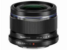 Olympus M.ZUIKO DIGITAL 25mm F1.8 Lens Black Japan Domestic Version New