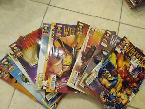 Wolverine 265-276 sequenza completa spillati marvel panini comics
