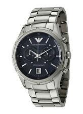 Emporio Armani Quarz - (Batterie) Armbanduhren aus Edelstahl für Herren
