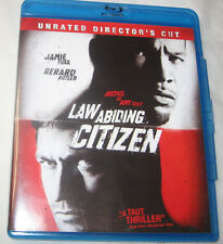 Law Abiding Citizen Blu-ray Disc 2010 2-Disc Set Rated / Unrated Director's Cut